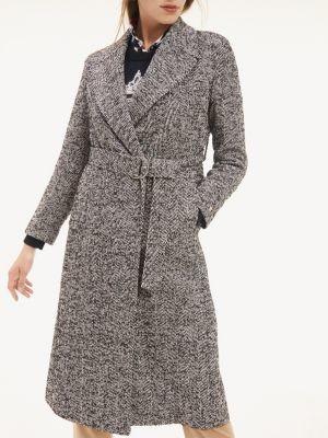 Tommy Hilfiger Belted Wool Blend Coat