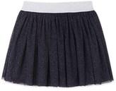 Petit Bateau Girls spangled tulle skirt