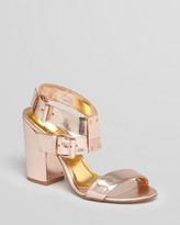 Sandals - Lissome Block High Heel