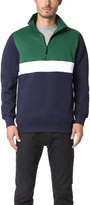 MSGM Half Zip Pullover
