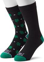 Men's Funky Socks 2-pack Shamrock Derby Socks