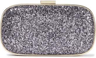 Anya Hindmarch Marano Glittered Woven Box Clutch