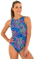 Zoggs Boho Jet Set Hi Front One Piece