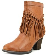 Sbicca Kathrin Women Round Toe Synthetic Tan Boot.