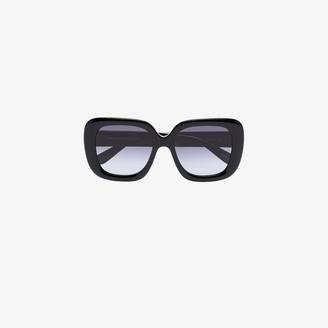 Chimi Black Extended Core oversized square sunglasses
