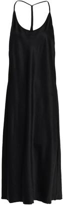 Alexander Wang Open-back Satin Midi Dress
