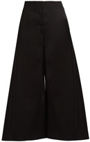 Roksanda Tove wide-leg wool-twill cropped trousers