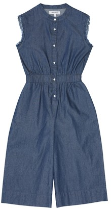 Woolrich Kids Chambray jumpsuit