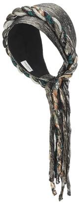 Saint Laurent Silk lamA headband