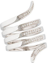 Catherine Malandrino Diamond Wrap Ring