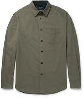 Rag & Bone Cotton And Wool-blend Twill Shirt