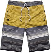 Meiruian Casual Men Training Running Jogging Gym Sport Beach Surf Wicking Shorts