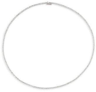 Meira T 14K White Gold & Diamond Tennis Necklace