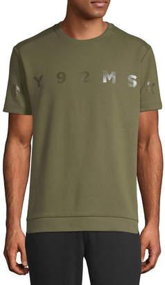 MSX BY MICHAEL STRAHAN Msx By Michael Strahan Mens Crew Neck Short Sleeve T-Shirt