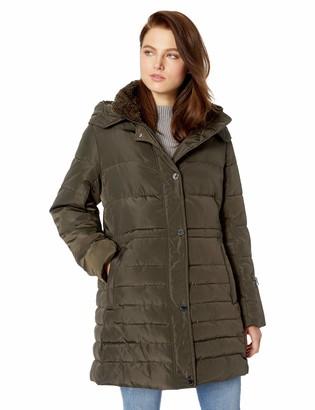 Rachel Roy Women's Plus Size Puffer Jacket
