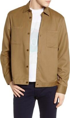 NN07 Drake Twill Shirt Jacket