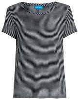 MiH Jeans Nora striped cotton-jersey T-shirt