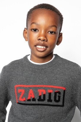 Zadig & Voltaire Chris Enfant Sweater