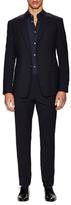 Prada Solid Wool Notch Lapel Suit