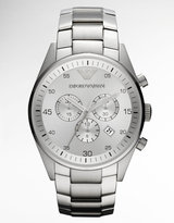 Emporio Armani Men's Stainless Steel Chronograph Watch