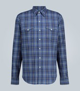 Ralph Lauren Purple Label Checked cotton shirt