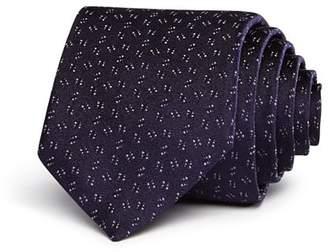 John Varvatos Micro Dot Dash Classic Tie