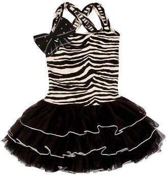 Couture Oh La La Ooh La, La Big Shoulder Bow Dress