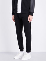 Kenzo Tiger-embroidered cotton-jersey jogging bottoms