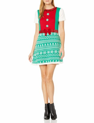 Blizzard Bay Women's Ugly Christmas Dress