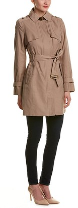 Cole Haan Women's Single Breasted Trench