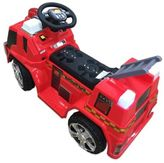 Fire Truck Ride-On in Red