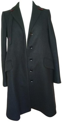Dondup Black Wool Coat for Women