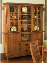 Home styles Arts & Crafts Dining Buffet & Hutch