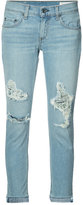Rag & Bone Jean - distressed jeans - women - Cotton/Polyurethane - 25