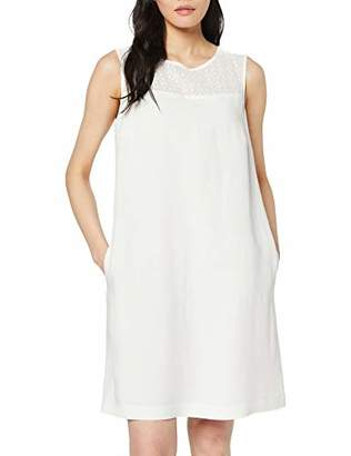 Daniel Hechter Women's Dress, (White 10)