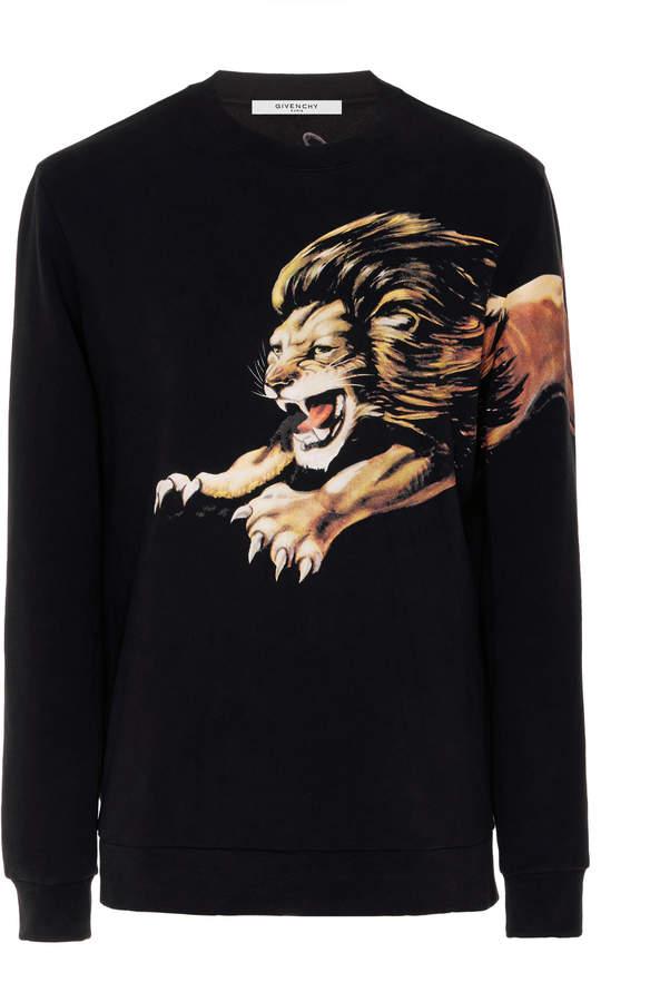 Givenchy Lion-Print Sweatshirt