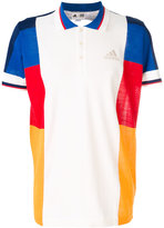 adidas colourblock polo shirt