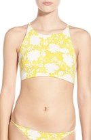 Billabong 'Gypsy Garden' High Neck Halter Bikini Top