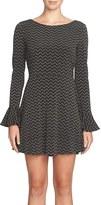 CeCe Women's Jayden Print Fit & Flare Dress