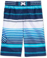 Kanu Surf Mixed-Stripe Swim Trunks, Big Boys (8-20)