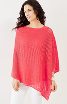 J. Jill Island Breeze Linen & Cotton Poncho