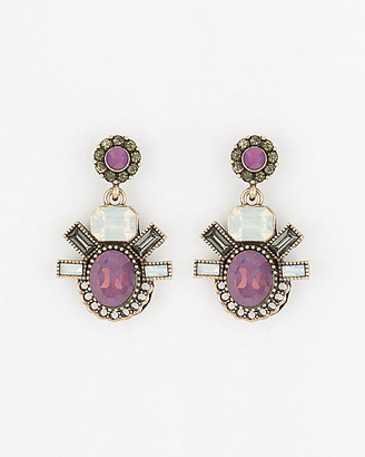 Le Château Gem Drop Earrings