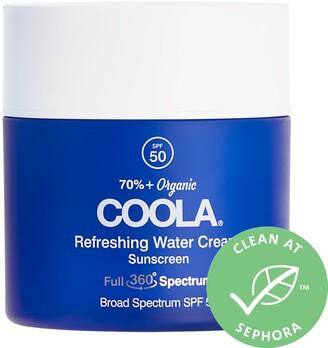 Coola Full Spectrum 360 Refreshing Water Cream Organic Face Sunscreen SPF 50