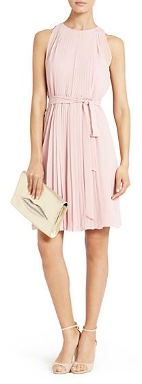 Diane von Furstenberg Ria Chiffon Dress In Blush
