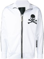 Philipp Plein skull print jogging jacket
