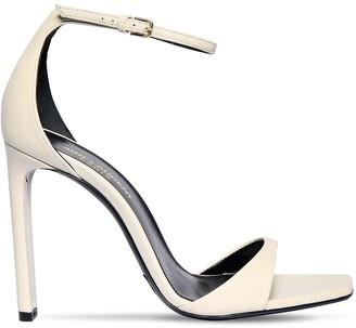 Saint Laurent 105mm Bea Leather Sandals