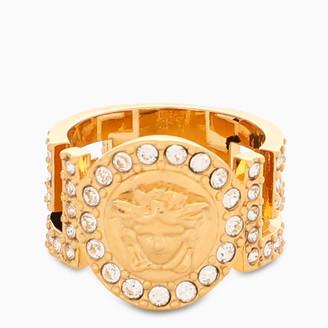 Versace Gold metal ring