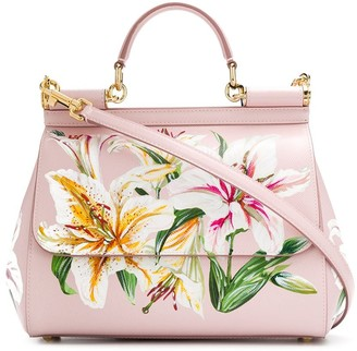Dolce & Gabbana floral tote bag