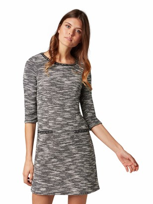 Tom Tailor Casual Women's Trendy Kleid Mit 3/4 Arm Dress