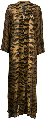 DSQUARED2 Tiger Print Cover-Up